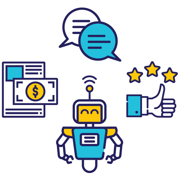 AI chatbot value for business